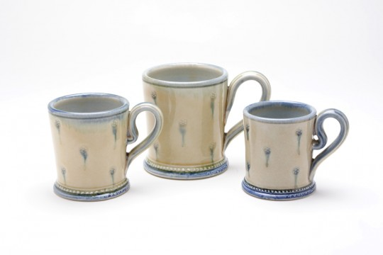 A&J Young Pottery classic mug - cream