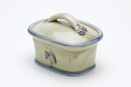 A&J Young Butter dish - Cream
