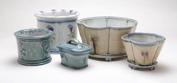 A&J Young Pottery examples
