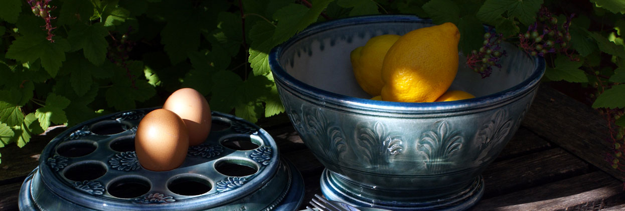 A&J Young Pottery - Lemons in Bowl