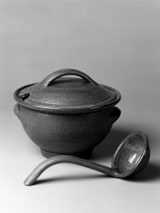Tureen & Ladle by A J Young from the 80's